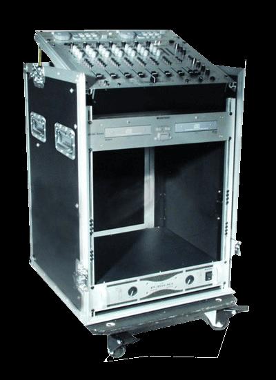 Rack-kasser og -stativer