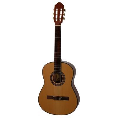 Venstrehånds spansk guitar