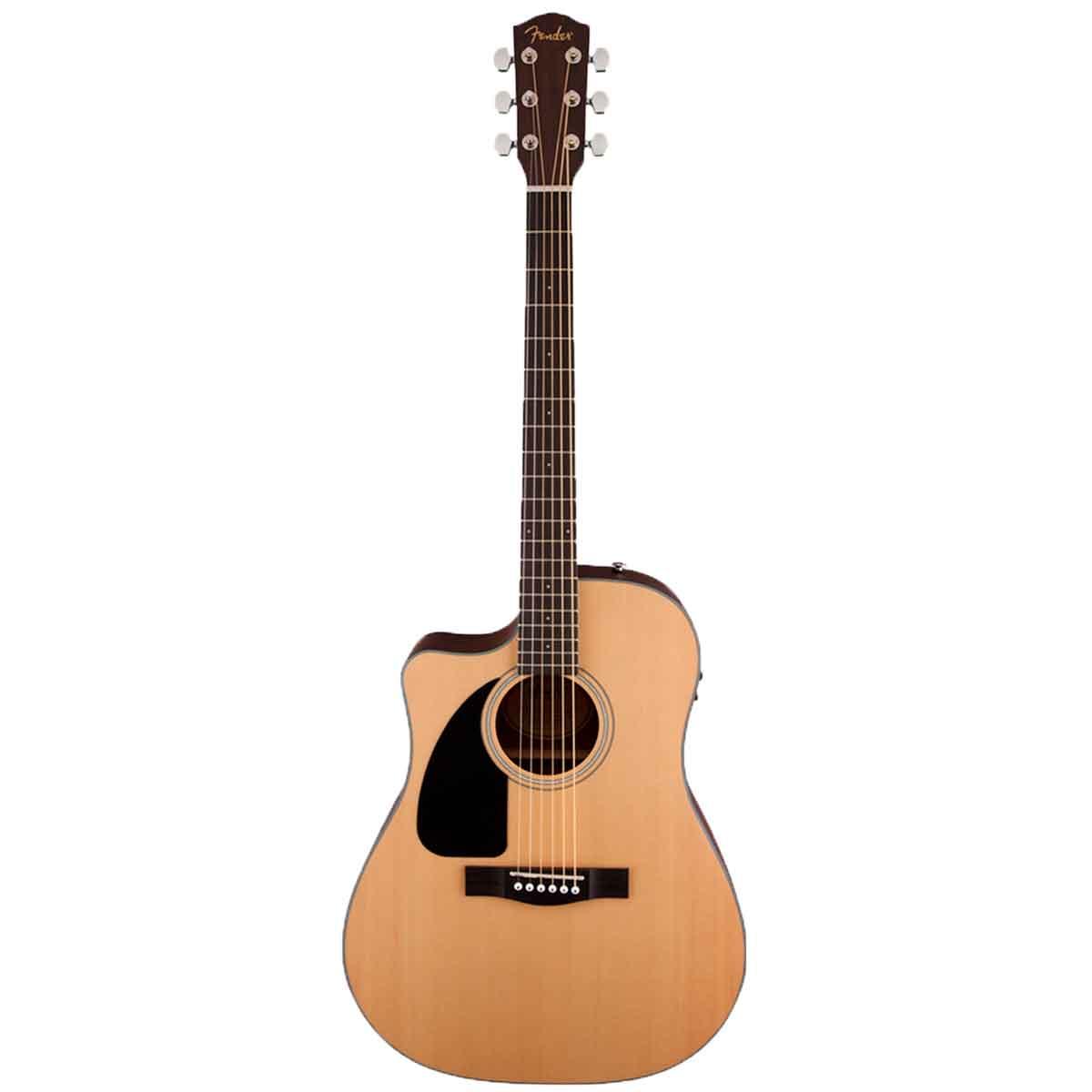 Venstrehånds western-guitar