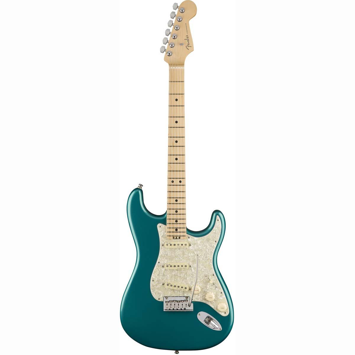 Fender American Elite Stratocaster, MN, OCT el-guitar ocean turquoise