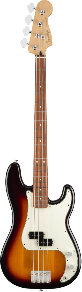 Fender Player Precision Bass, PF, 3TS el-bas 3-tone sunburst