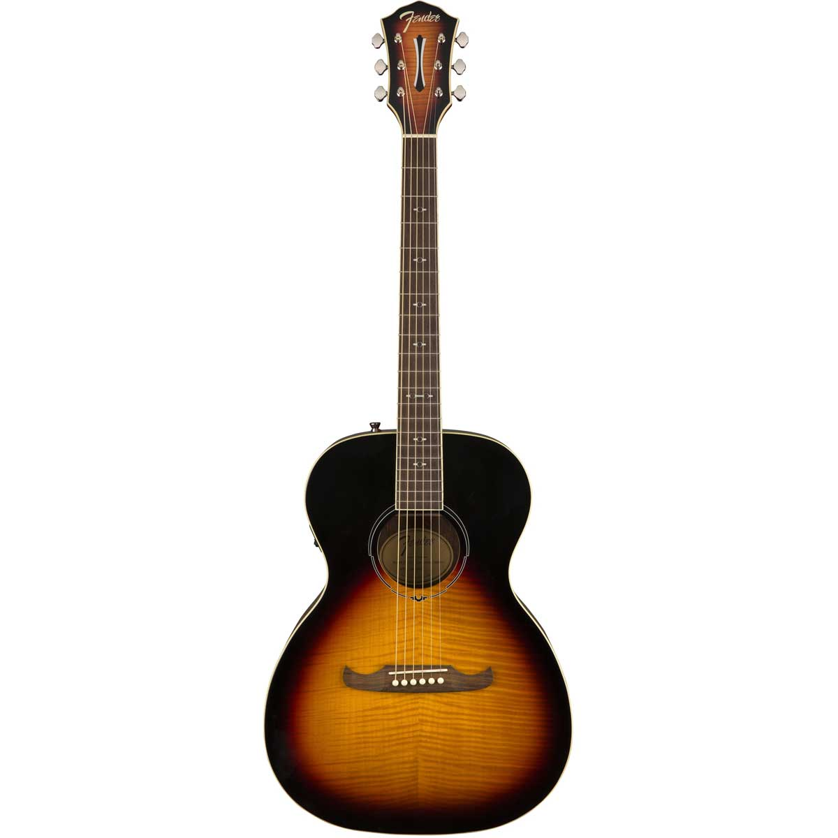 Image of   Fender FA-235E Concert western-guitar 3-tone sunburst