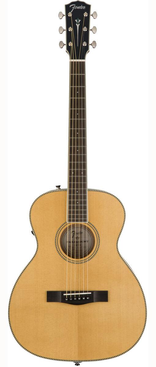 Fender PM-TE Travel Standard western-guitar natur