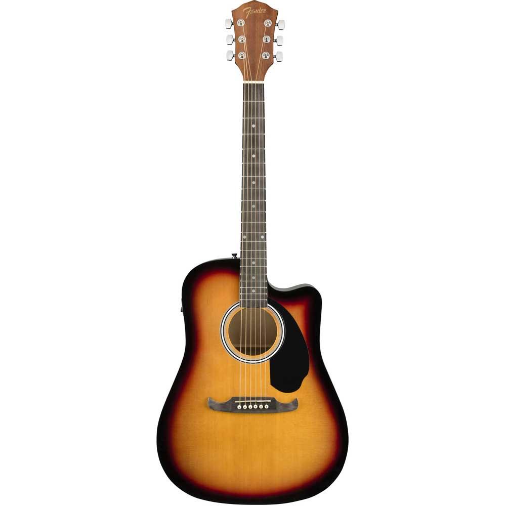 Image of   Fender FA-125CE western-guitar sunburst