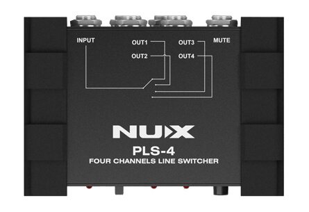 Nux PLS-4 line-switcher