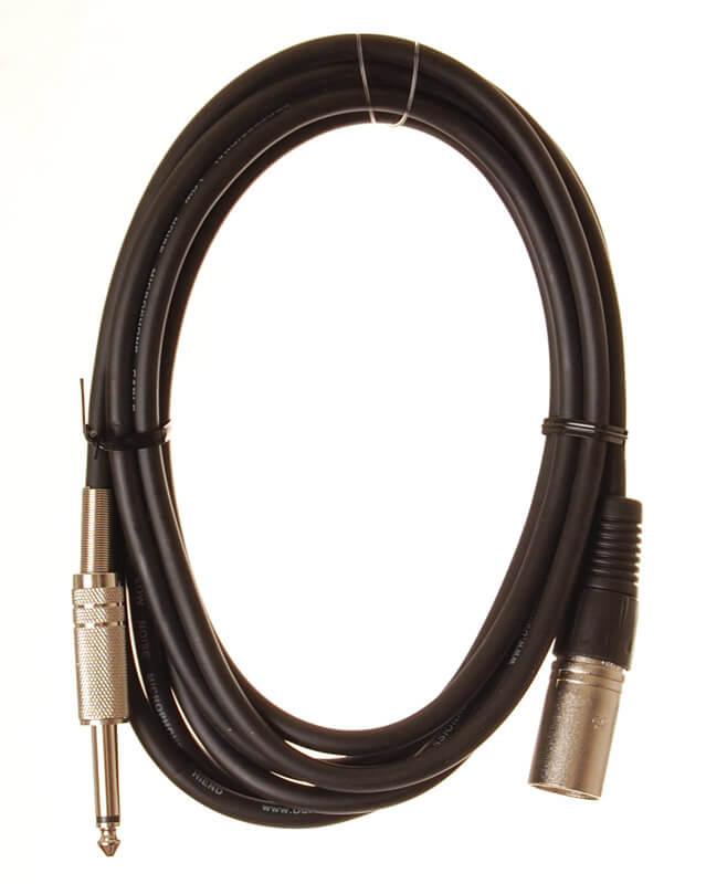 HiEnd  XLR(han)-til-jack-kabel  3meter