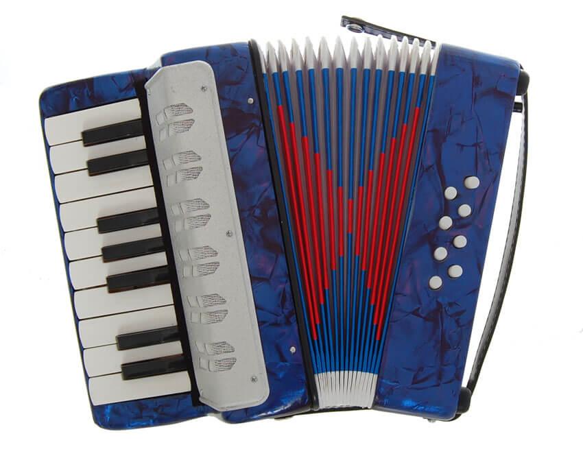 Beckett STP104 børne-harmonika blå