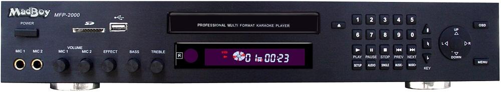 Madboy MFP-2000Pro karaoke-afspiller