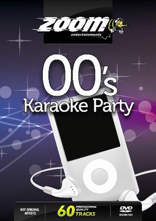 Billede af 00sKaraokeParty karaoke-DVD