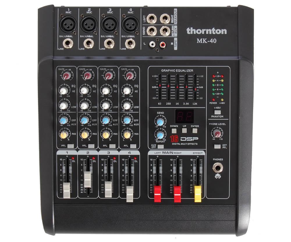 Thornton MK-40 mixer