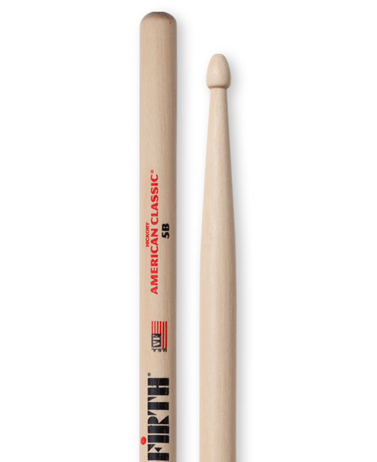 Image of   Vic Firth 5B American Classic trommestikker(par)