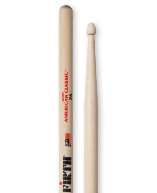 Image of   Vic Firth 7A American Classic trommestikker(par)