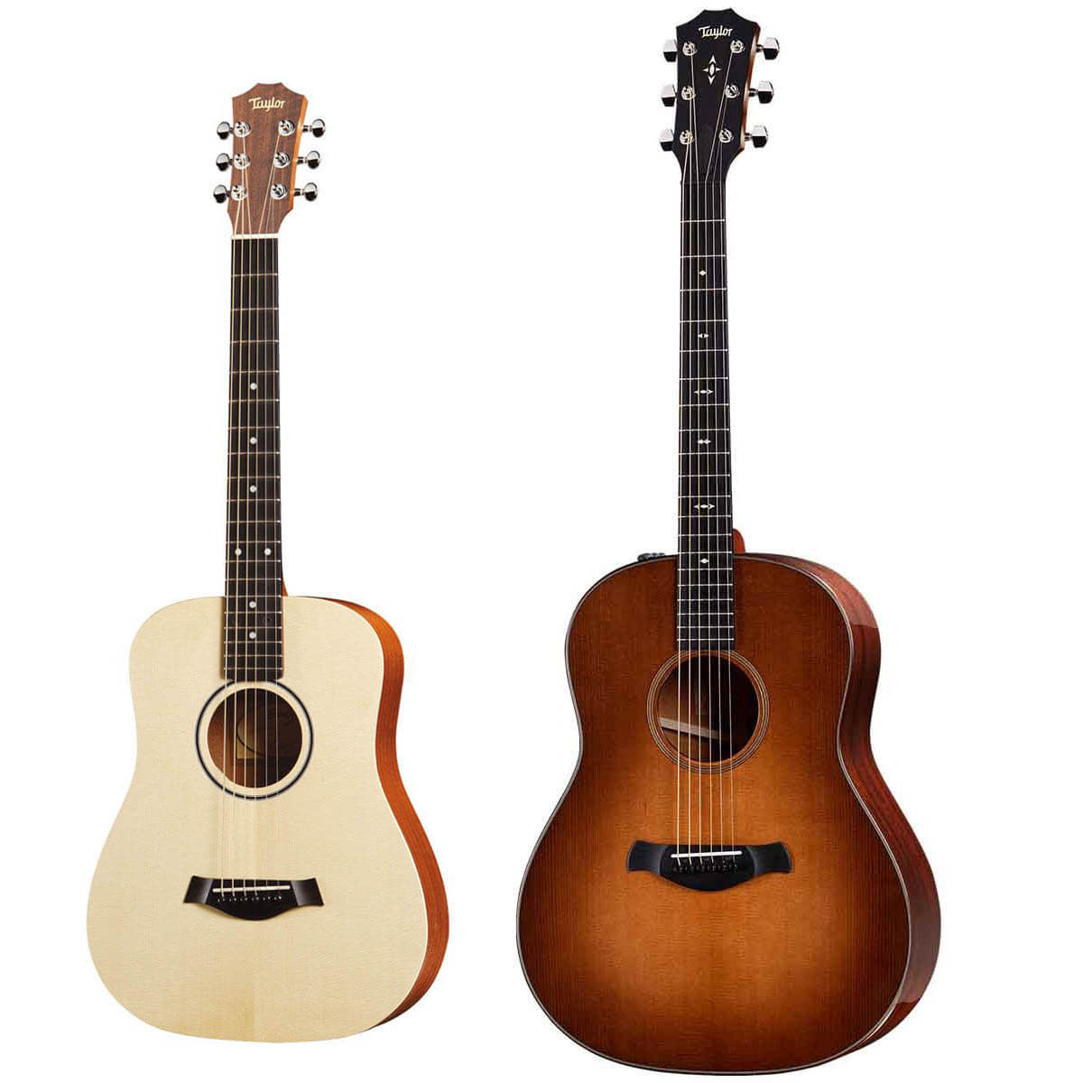 Taylor Builders Edition 517e WHB western-guitar whb + BT1 Baby Taylor