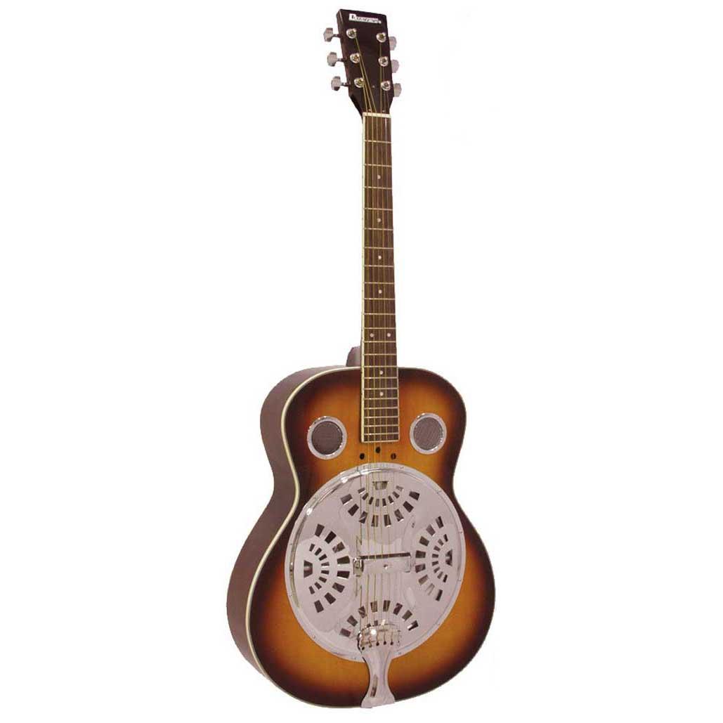 Dimavery RS-300 dobroresonator-guitar sunburst