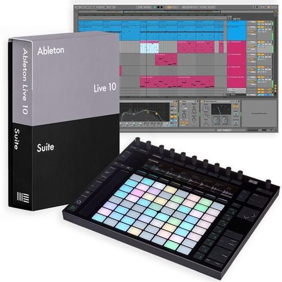 Billede af Ableton Push 2 + Live 10 Suite