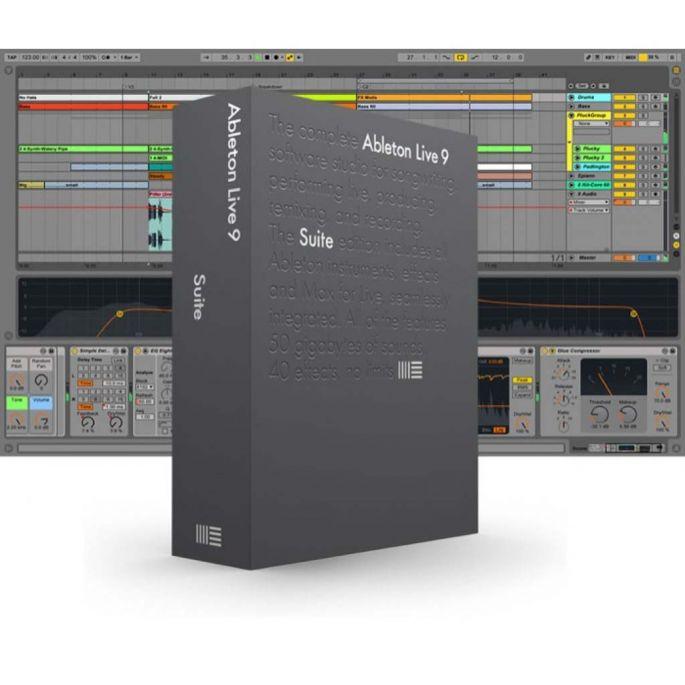 Billede af Ableton Live 9 Suite EDU-version