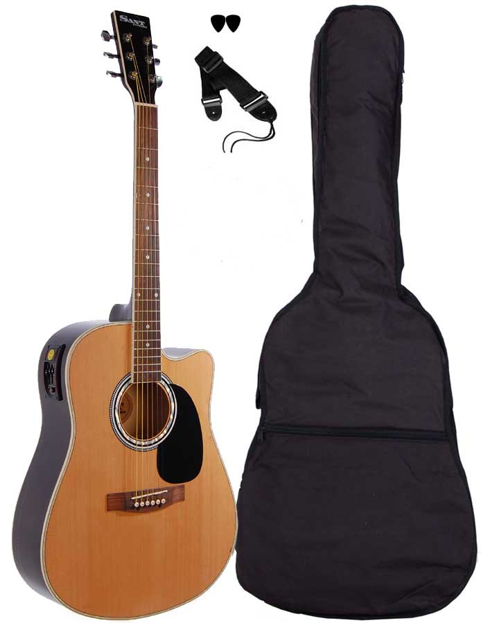 Image of   Sant Guitars AC-82EQ-NA western-guitar natur