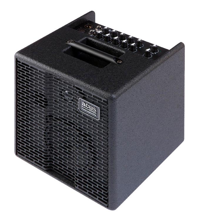 Image of   Acus OneForStrings5T Black akustiskguitar-forstærker sort