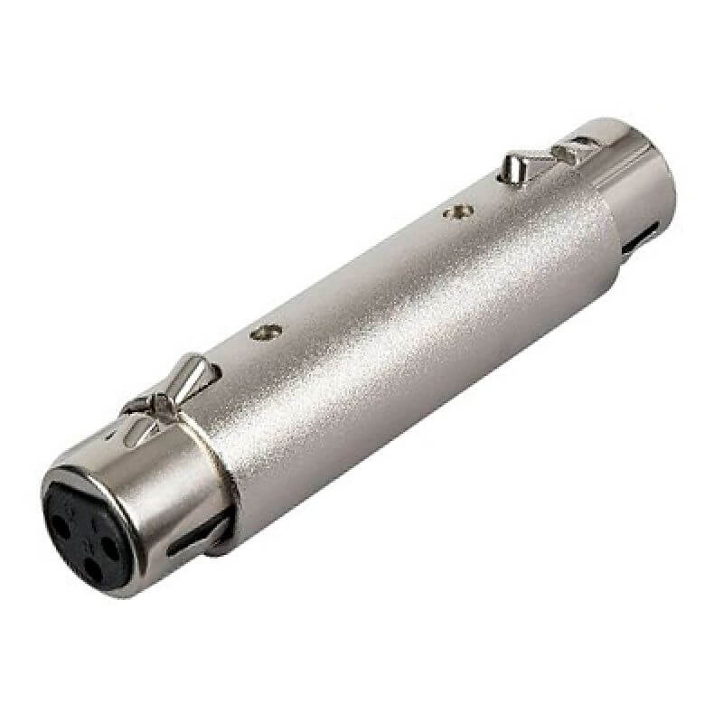 Image of   Adam Hall 7860 XLR(hun) til XLR(hun) adapter