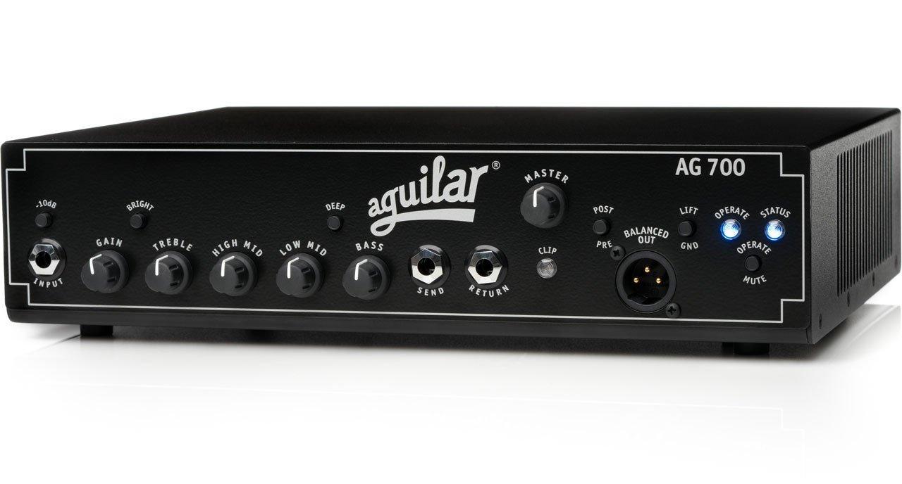 Aguilar AG700 basforstærker-top