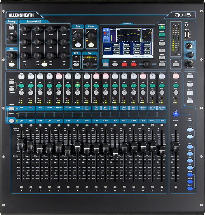 Allen&Heath QU-16 digitalmixer