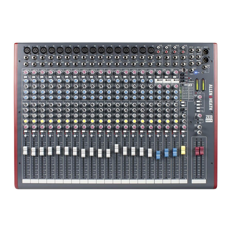 Image of   Allen&Heath ZED-22FX mixer