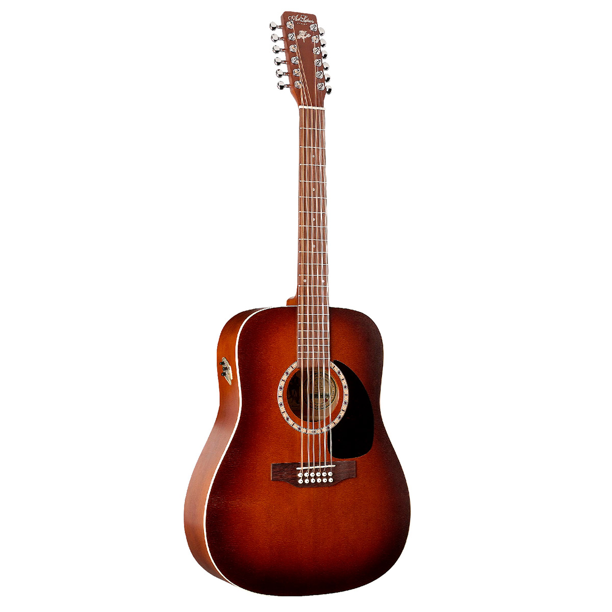 Image of   A&L Dreadnaught12CedarQI western-guitar,12-strenget antiqueburst