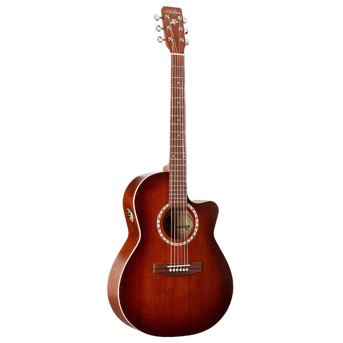 Image of   A&L FolkCWCedarQI western-guitar antiqueburst