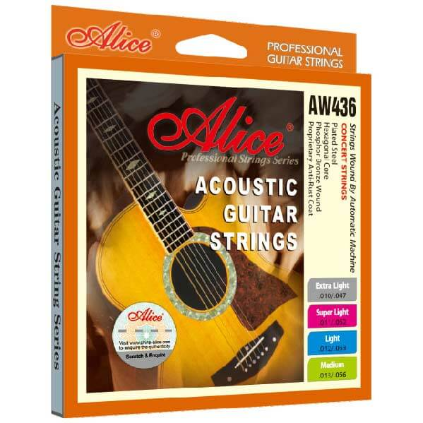 Image of   Alice AW436-L western-guitar-strenge,light