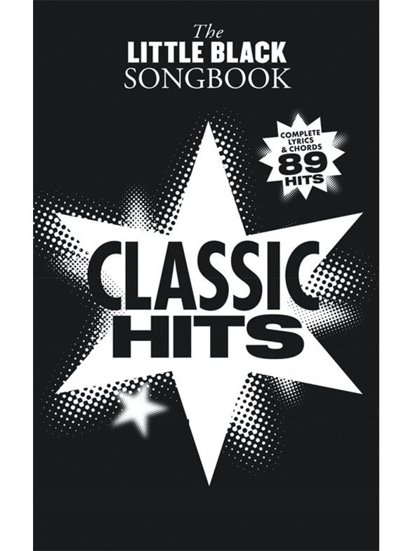 Image of   TheLittleBlackSongbook:ClassicHits guitar-lærebog