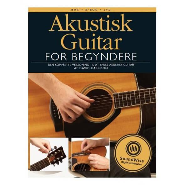 Image of   Akustisk guitar for begyndere bog, e-bog og lyd