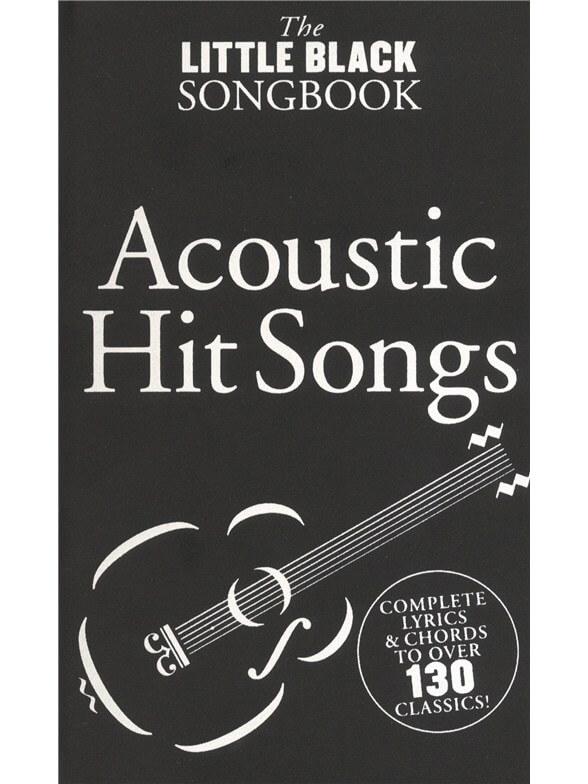 TheLittleBlackSongbook:AcousticHitSongs guitar-lærebog