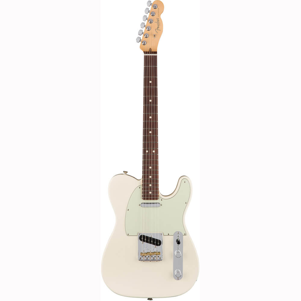 Image of   Fender American Pro Telecaster, RW, OW el-guitar olympic white
