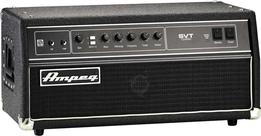 Ampeg Classic SVT CL basforstærker-top
