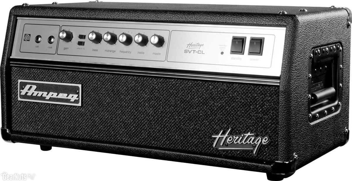 Ampeg Heritage SVTCL basforstærker-top