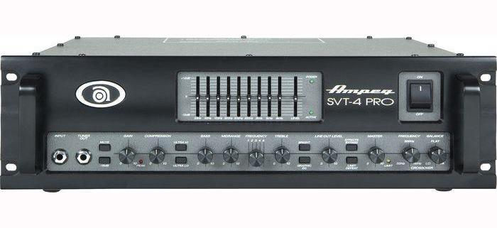 Ampeg SVT 4PRO basforstærker-top