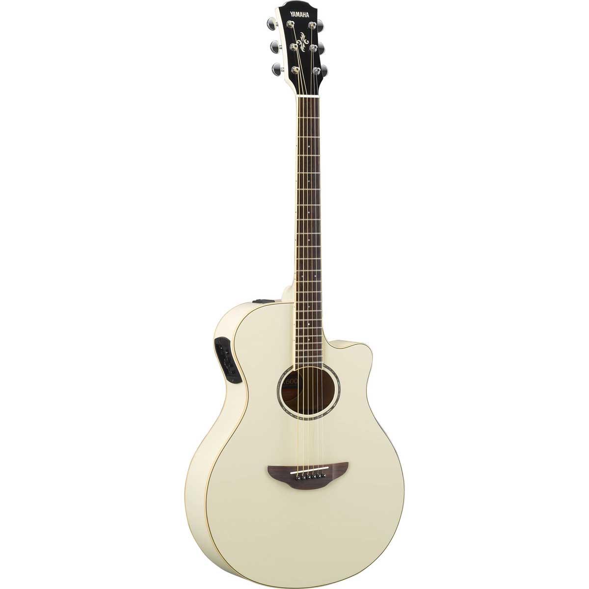 Yamaha APX-600 VW western-guitar vintage white