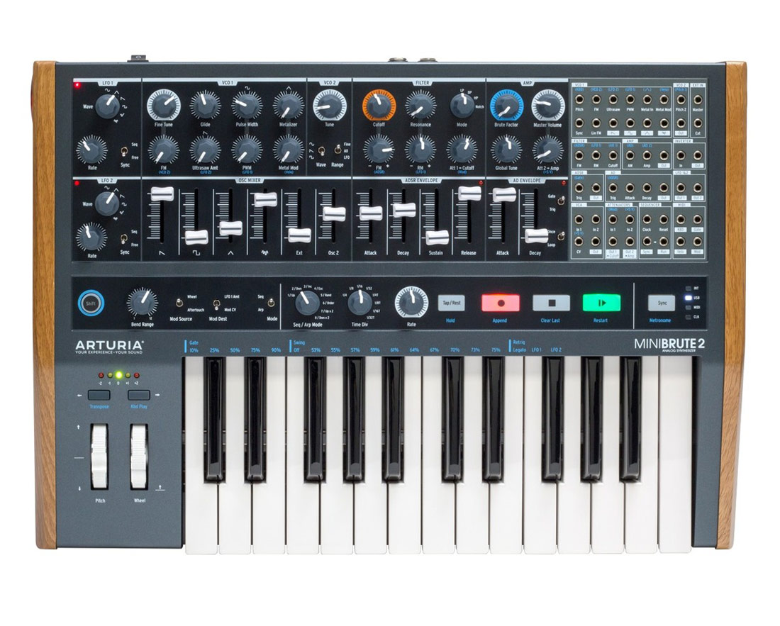 Image of   Arturia Minibrute 2 synthesizer