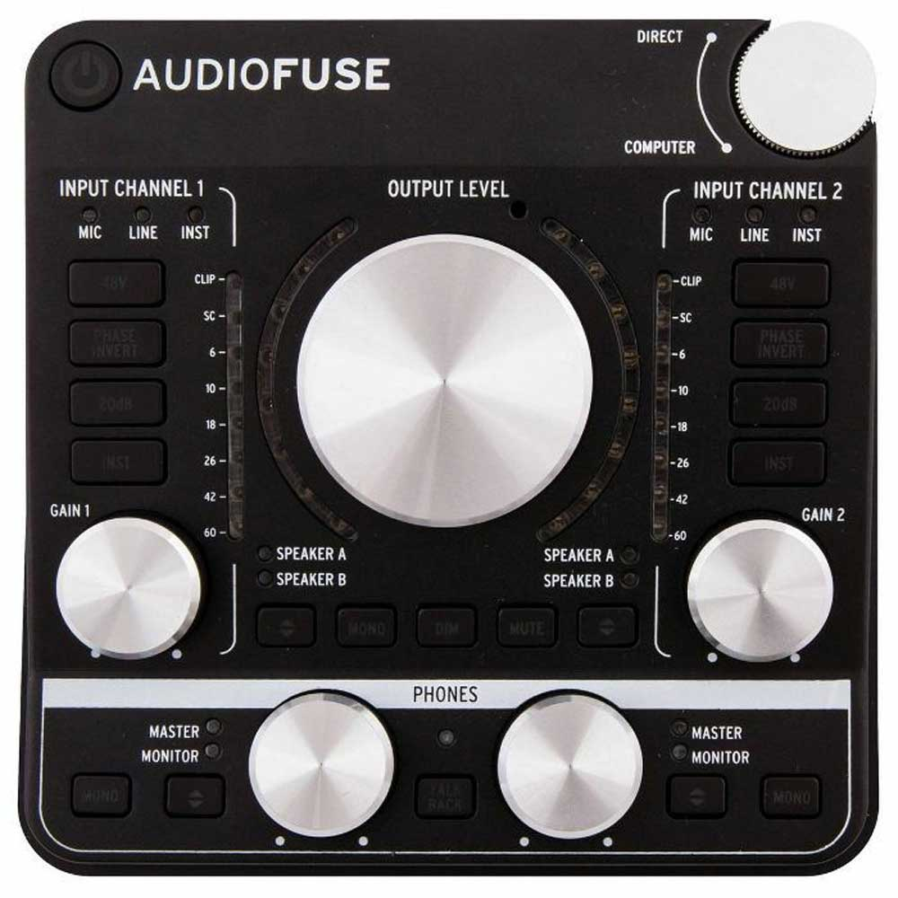Arturia Audiofuse audio interface deep black