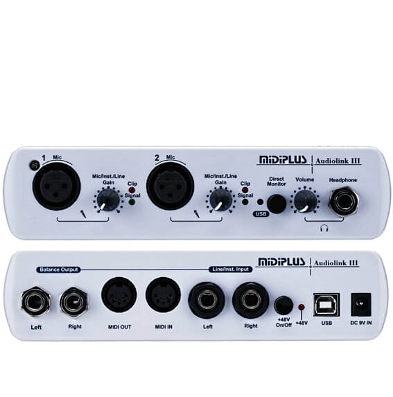 Midiplus AudiolinkIII audiointerface