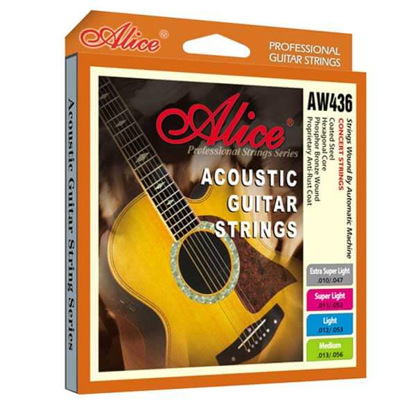 Image of   Alice AW436-XL western-guitar-strenge,extralight