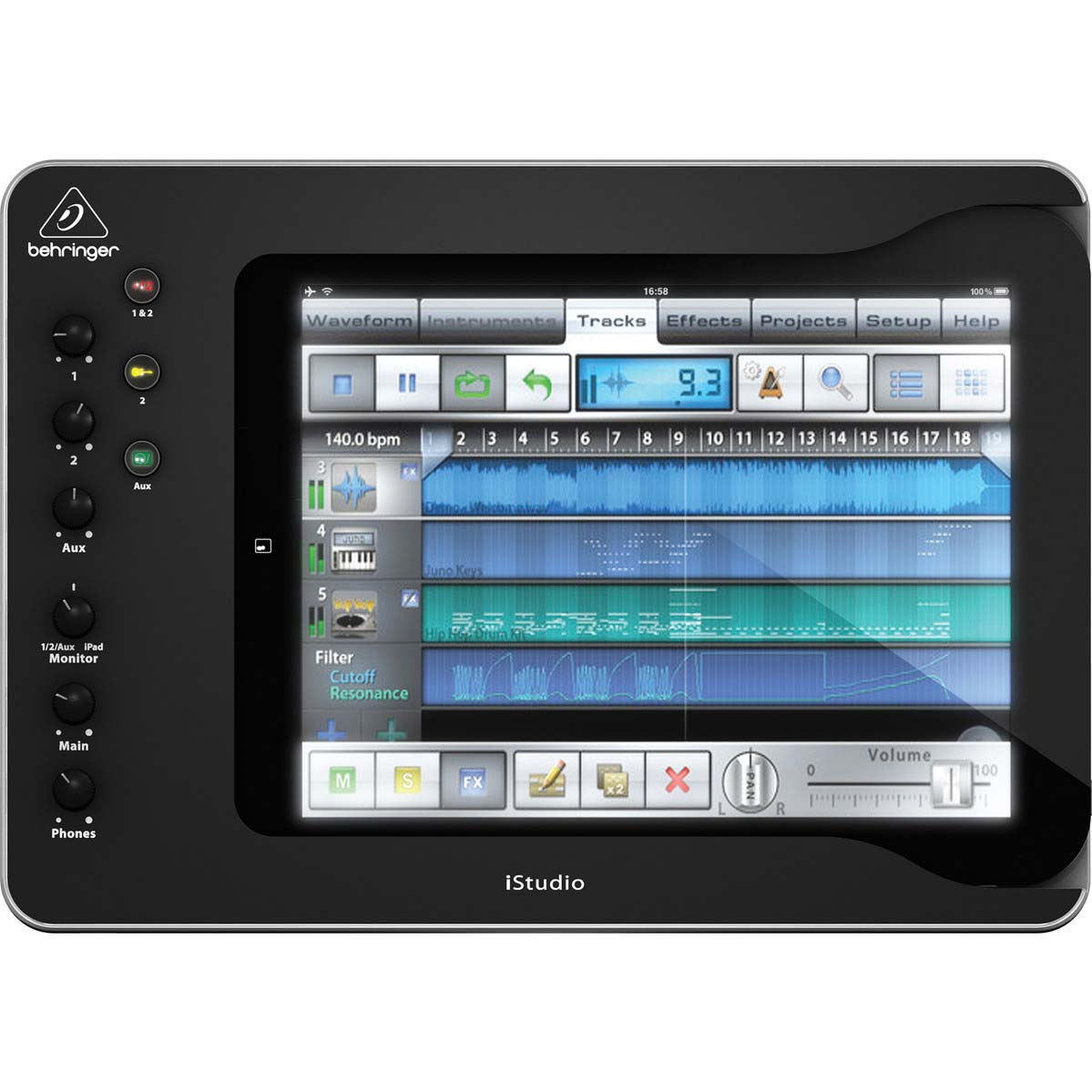 Behringer iStudio iS202 iPad-mixer