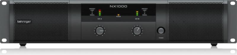 Behringer NX1000 forstærker
