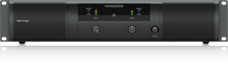 Behringer NX6000 forstærker