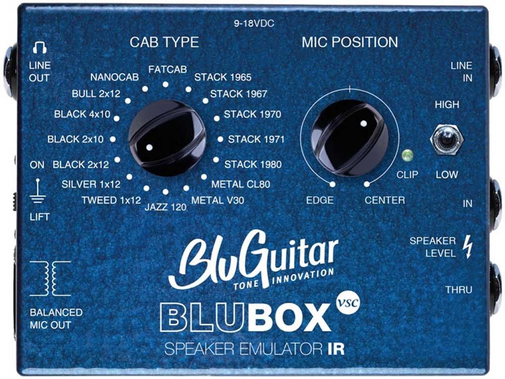 BluGuitar BluBox VSC speaker emulator