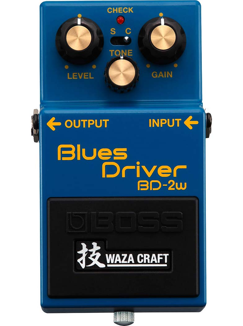 Boss BD-2w Blues Driver guitarpedal