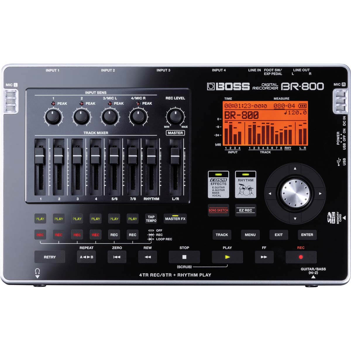 Boss BR-800 multitrackrecorder