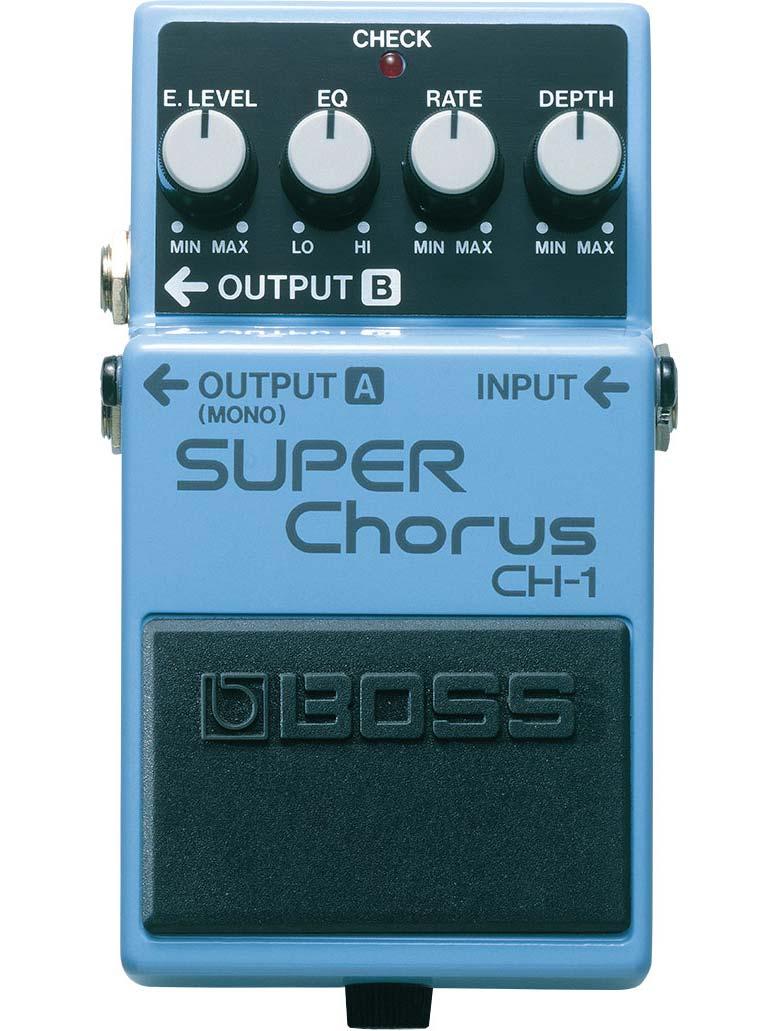 Billede af Boss CH-1 Chorus guitarpedal
