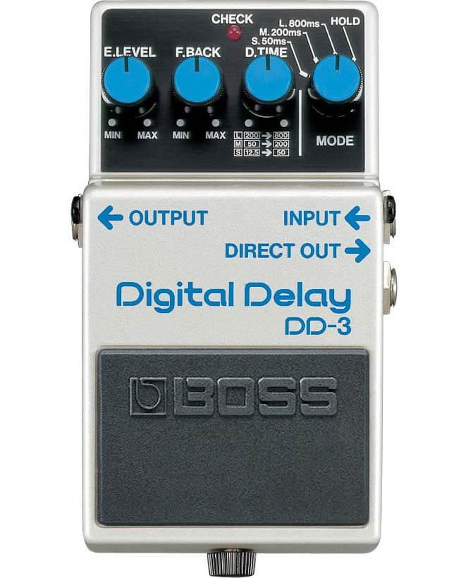 Boss DD-3 Digital Delay guitarpedal
