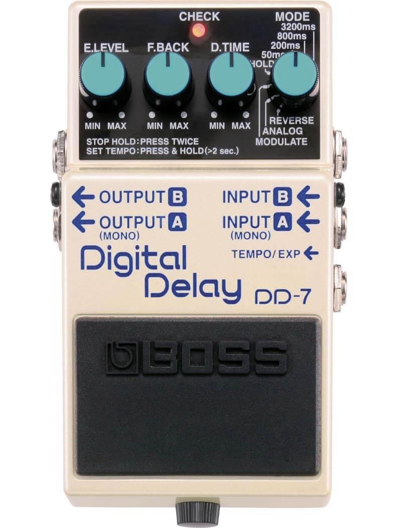 Boss DD-7 Digital Delay guitarpedal